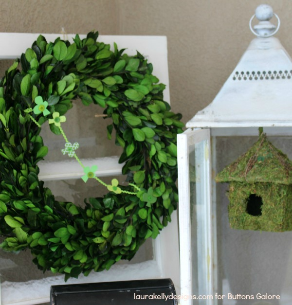 Wreath with Garland