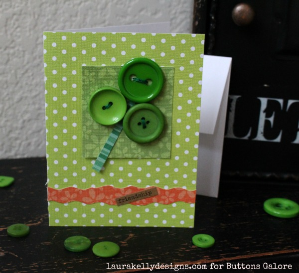 SHamrock Button Card Final