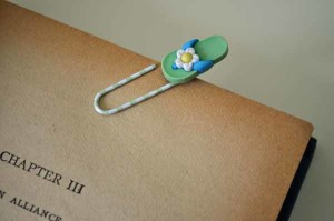 Flip Flop Bookmark Close-Up