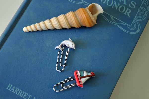 Sea Bookmarks with Shell