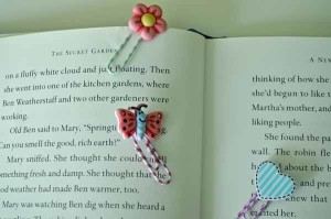 Secret Garden Bookmarks