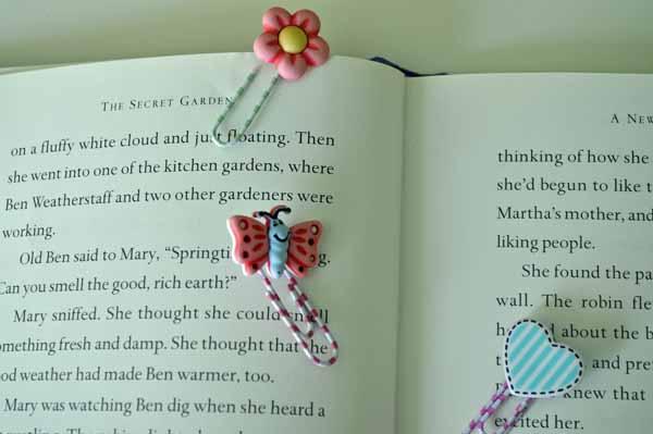 Secret Garden Bookmarks