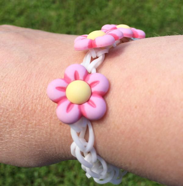 Finished Rubber Band Bracelet