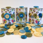 Upcycled Tin Can Storage Containers