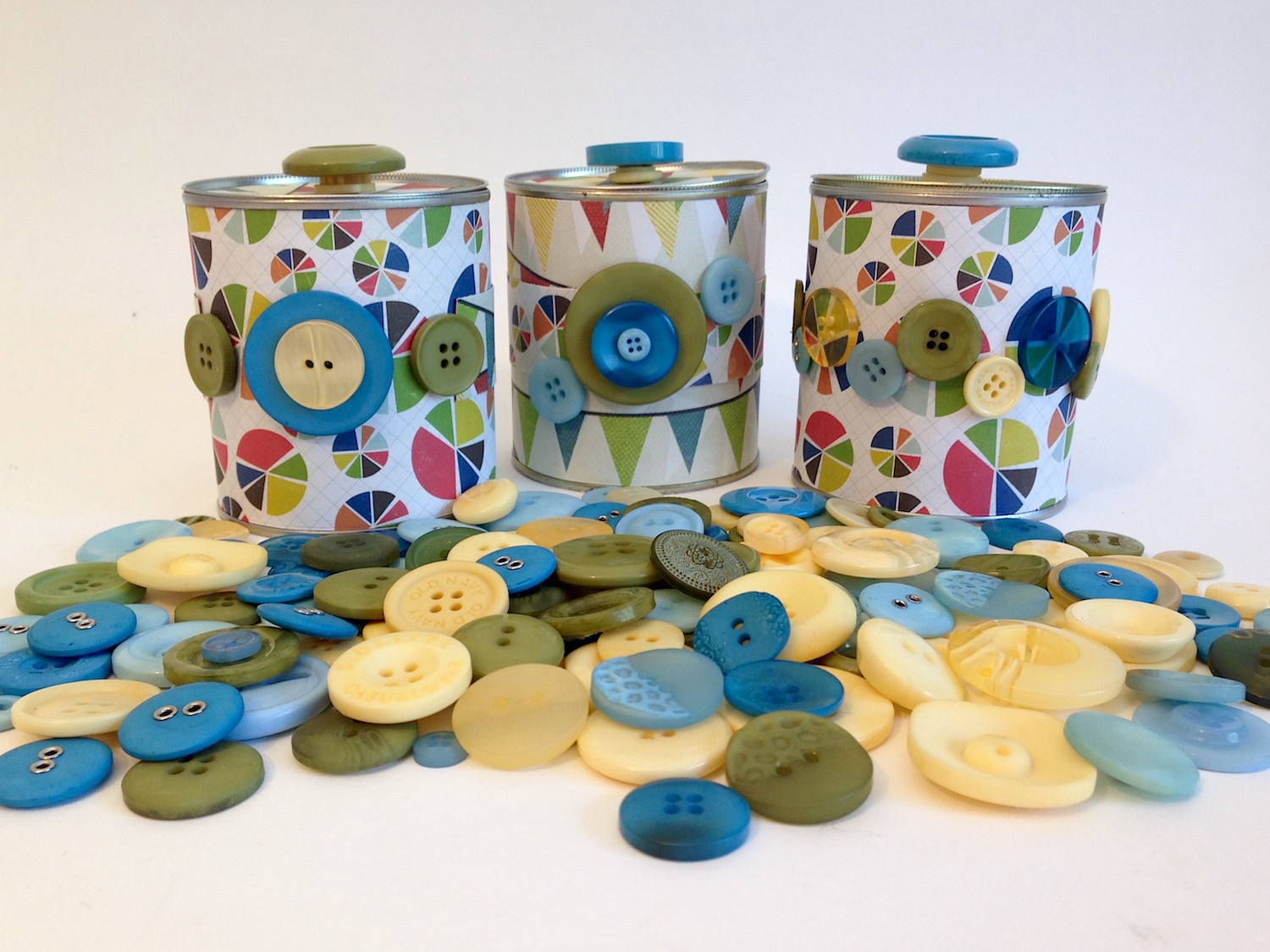 upcycled tin cans lisa fulmer