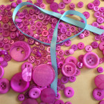 Make a Headband with Buttons & Ribbon