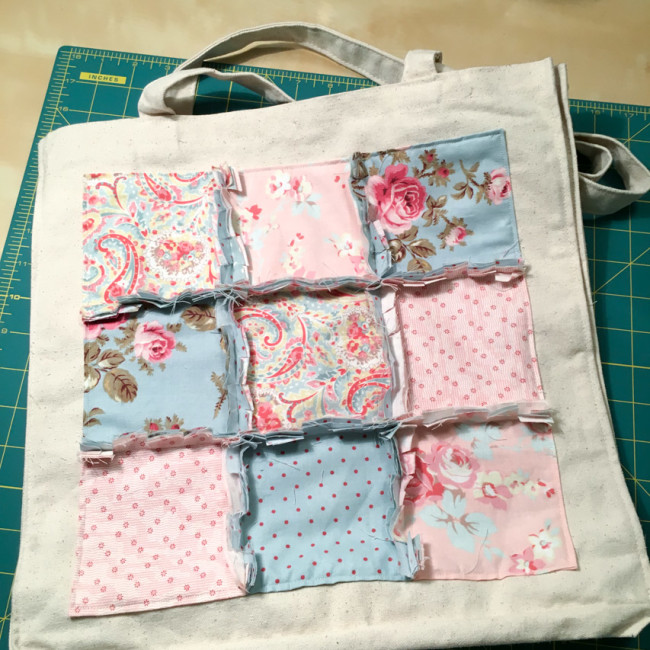 Rag Quilting Tote