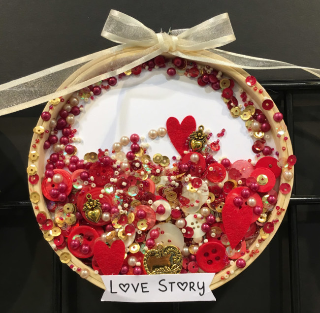 Love Story hoop