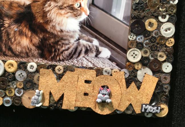 Pet Button Frame title