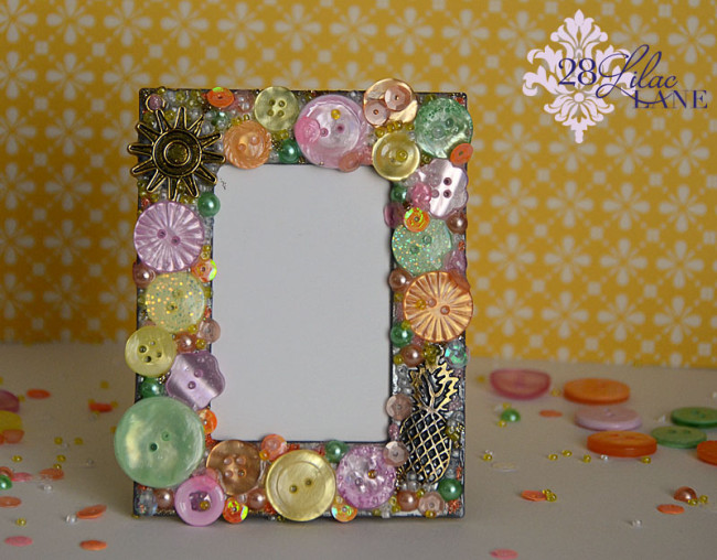 28 Lilac Lane Tropical Twist frame by May Flaum