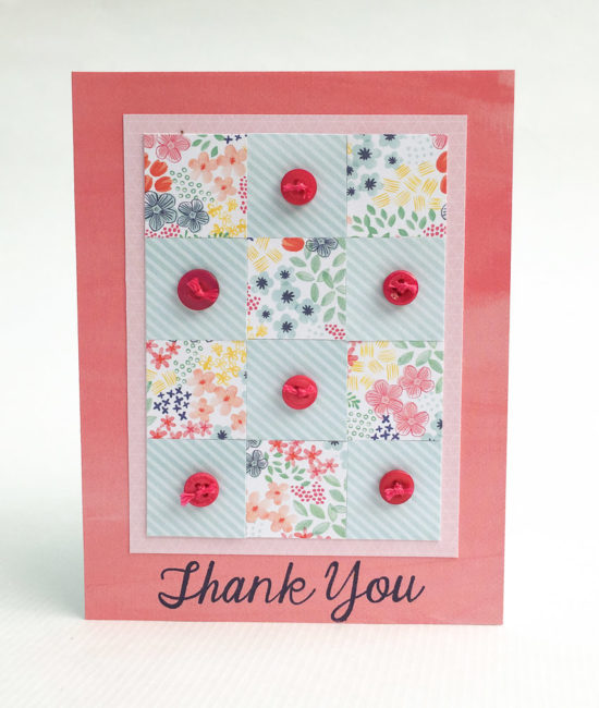 Quilt Thank You Card
