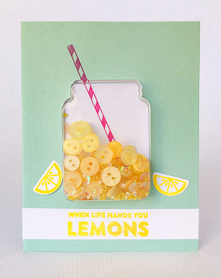Lemonade Shaker Card