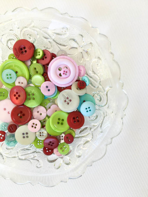 The Merriest Button Bonanza by Buttons Galore