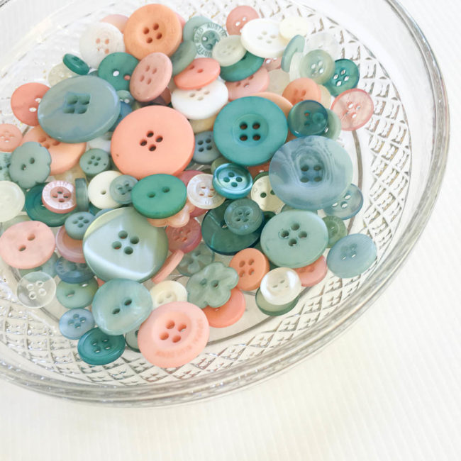 Coral Reef Button Bonanza by Buttons Galore