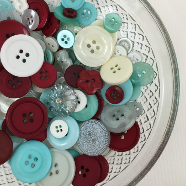Cool Winter Button Basics by Buttons Galore