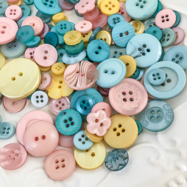 Bohemian Style Button Basics by Buttons Galore