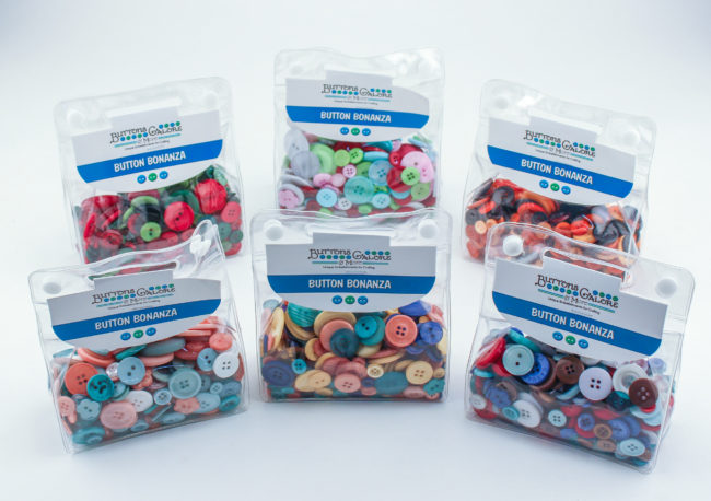 New Button Bonanzas for Fall & Christmas 2016 from Buttons Galore