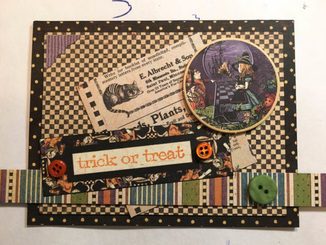 trick or treat halloween card 2