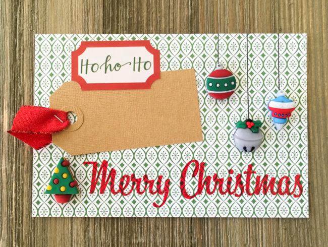 December Album 4x6 card