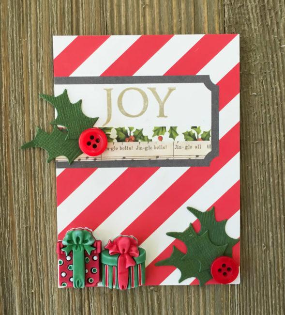 December Album 3x4 card