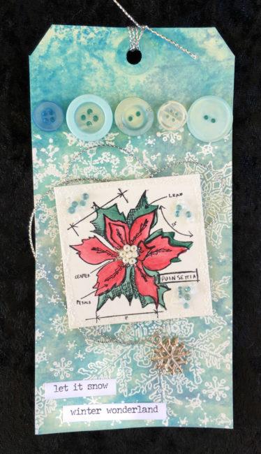 DIY Holiday Gift Tag