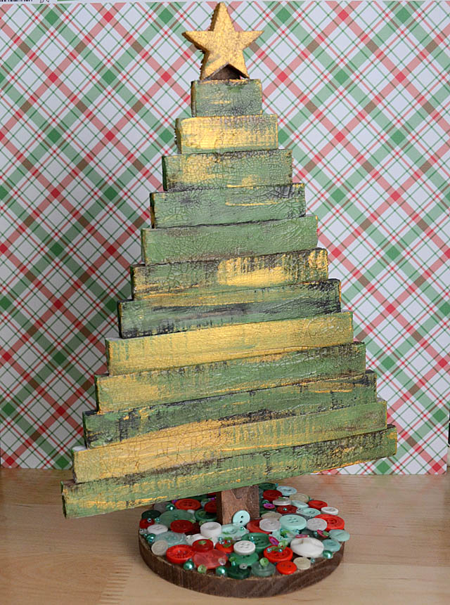 Altered Christmas Tree