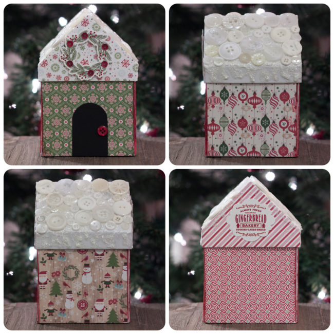 Christmas Village Gift Box