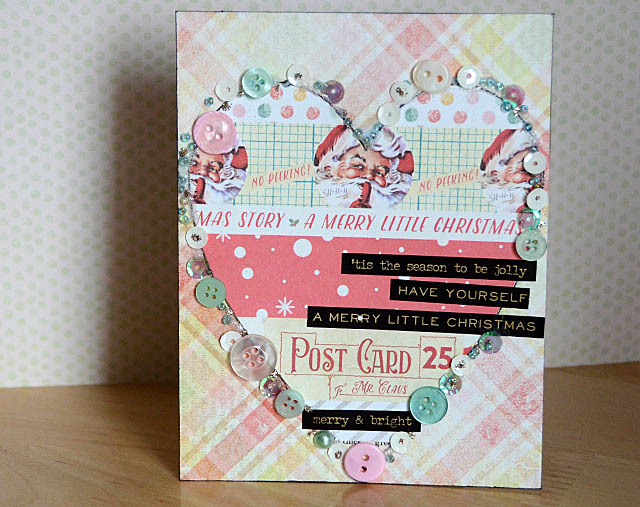 Heart 28 Lilac Lane Christmas Card
