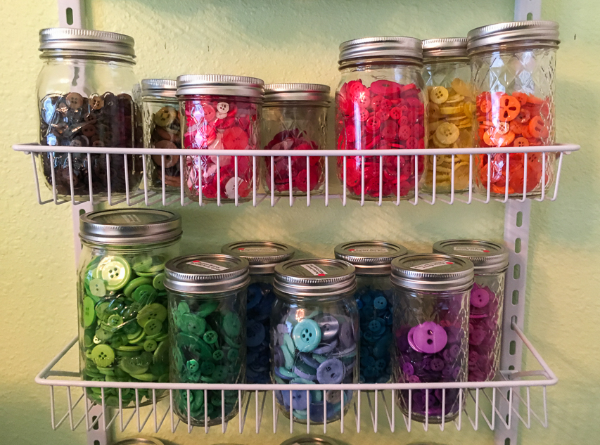 5 Easy Affordable Button Storage Ideas for Crafters