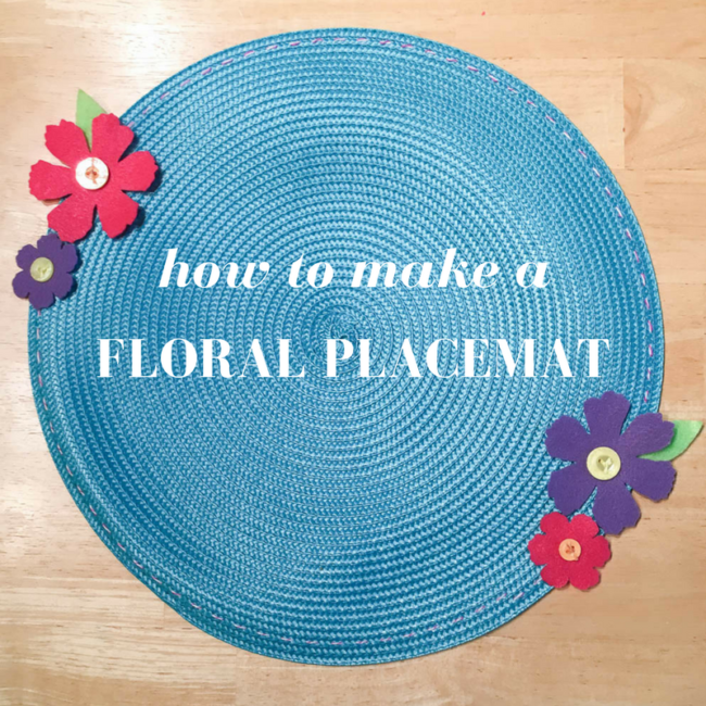Flower Placemat graphic