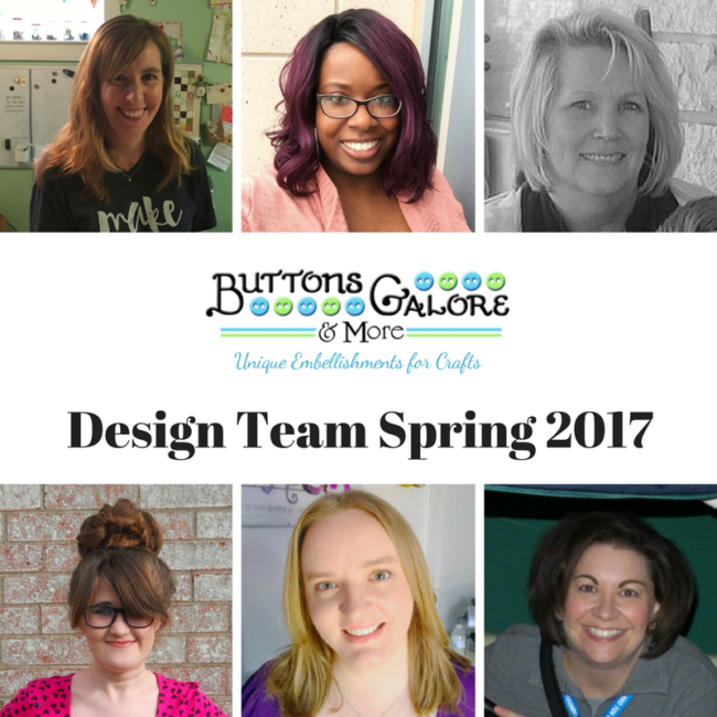 2017 Spring Buttons Galore Team
