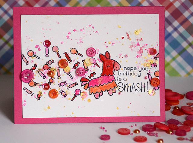 Fiesta Birthday Card