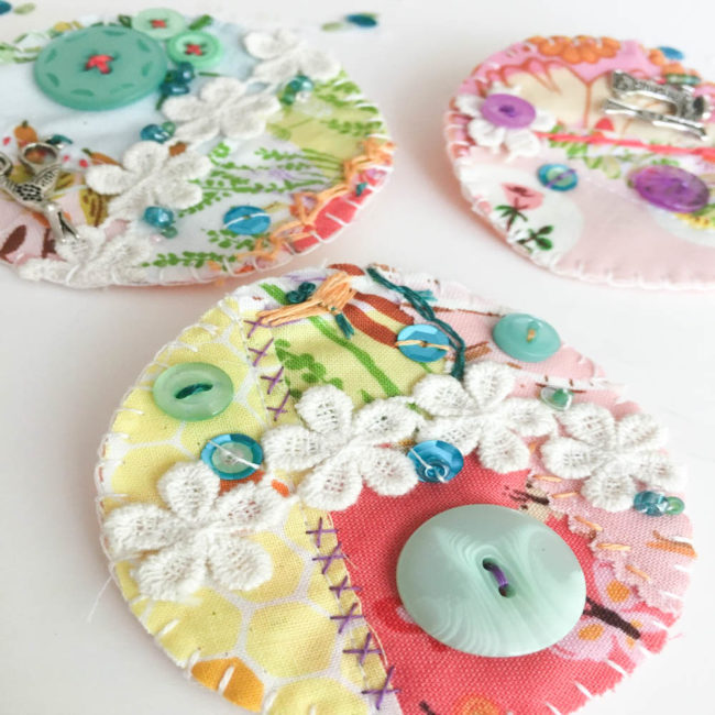 sew crafty brooches