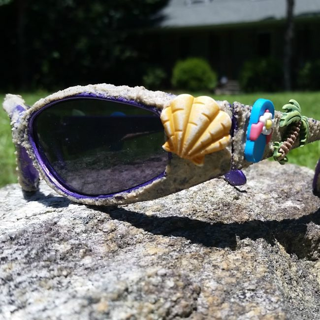beach crafty sunglasses