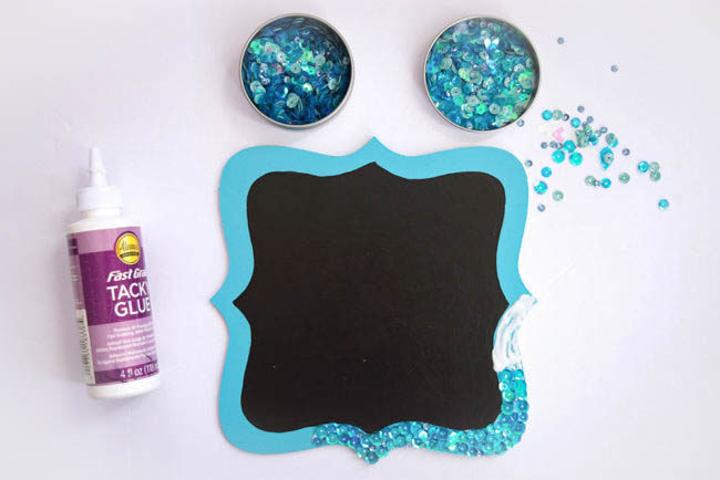 July-mermaid-board-gluing-sequins-650x434
