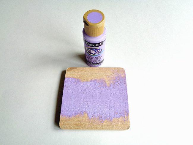 DIY Sequin Coaster Set