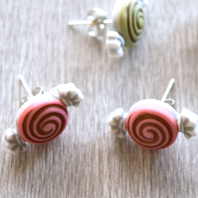 DIY candy earrings