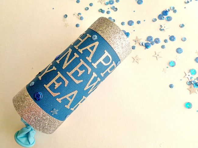 New Years Eve DIY Confetti Poppers