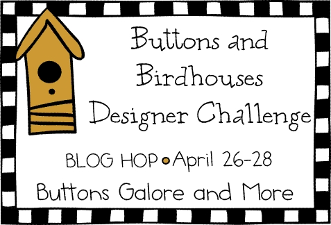 Buttons Birdhouse Blog Party